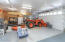 Garages 3 & 4. Garage 4 is extra deep & wide for workbenches & tool storage