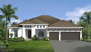 West Indies elevation rendering, not actual home