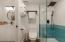 Modern and sleek bathroom