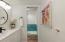Vanity separate from bathroom