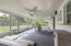 Large screen patio - hurricane shutters