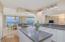 center island in kitchen