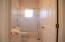 Second bathroom shower/tub combo