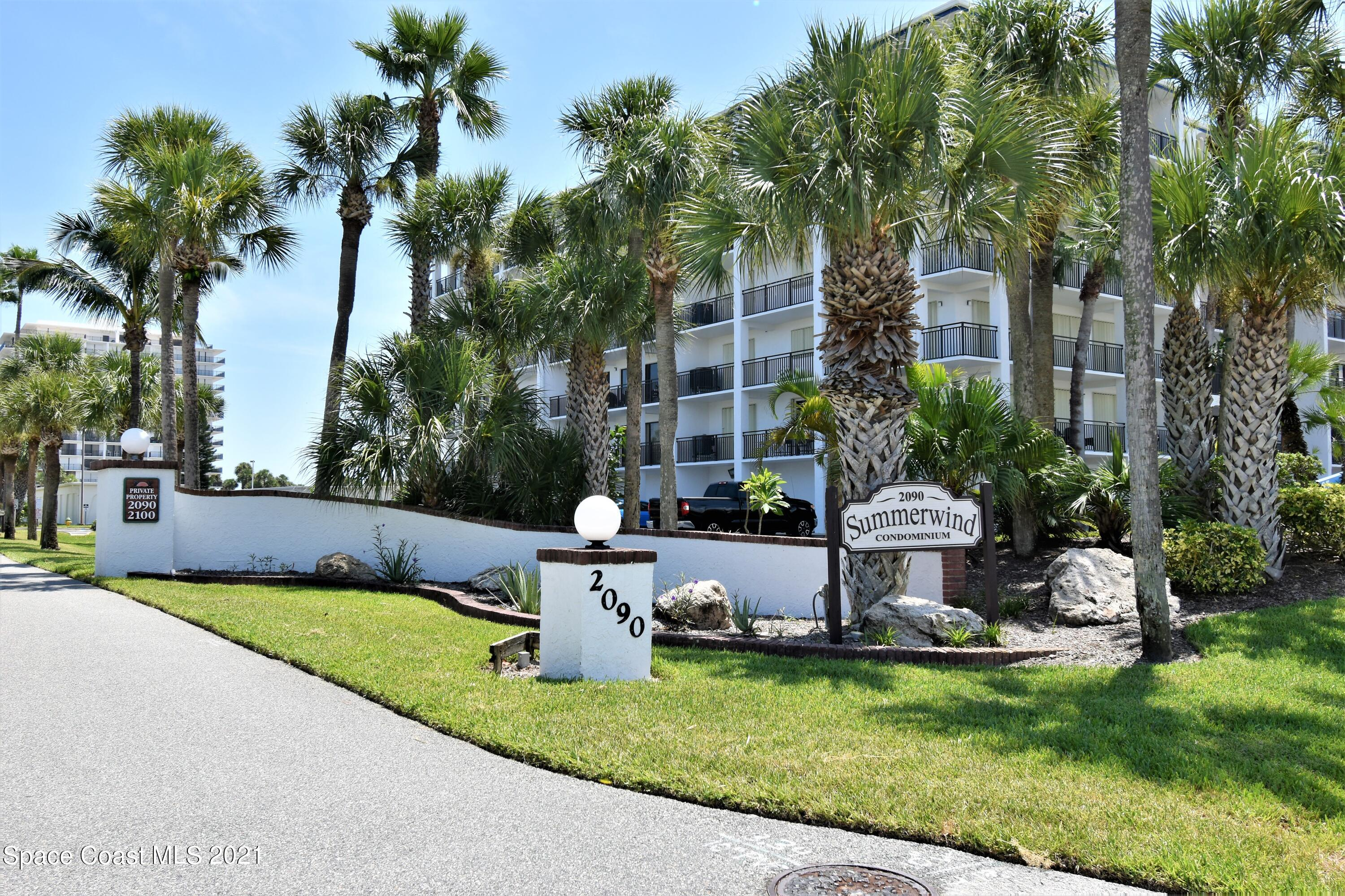 ABSOLUTELY STUNNING BEACHSIDE CONDO!! A MUST SEE! This beautiful, completely remodeled unit, located in a pristine location in Central Florida's famous Cocoa Beach is loaded with top of the line upgrades! Every single room in this 2 bedroom 2 bath, 1,600 Square Feet property has been carefully and tastefully gone through sparing no expense. Please request a list of all the upgrades due to there are too many to list. You will be happy and proud to own this amazing place. Not only because it is one of the best units, but also in a complex with amenities galore; private beach access, Pool, Tennis Court, two huge rec rooms with plenty of room to entertain, watch movies, pool table, Fitness Center and a Sauna. The complex also features a climate controlled storage room, your own private garage! This unit also features installed hurricane shutters but the owners paid $28,000 for new impact resistant sliders as well, for maximum protection. The complex is next to Sidney Fischer Park, walking distance to restaurants, Shops, Publix, entertainment, Banks and more. 5 miles to Port Canaveral, 30 minutes to Kennedy Space Center and about 1 hour to Orlando.