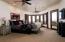 This Luxury Master Bedroom is on the Main Floor.