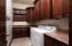 Granite Counter tops with Plenty of storage.