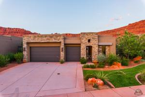 Enjoy the beautiful red rock cliffs surrounding this area -- home has views!