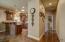 Hallway to Master Bedroom & Garage