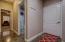 Door to oversize 3 car garage