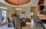 10-12 foot ceilings this is a very spacious open home.