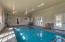 Don't like the pool put a floor over it and have huge workshop, craft room, theater, etc. Room is Heated and Cooled.