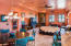 Captivating Iconic Santa Fe style home great room from kitchen