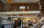 Loft bedroom above