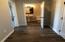 First floor 1/2 bathroom