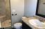 3/4 Upstairs bathroom