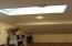 Skylight in loft.