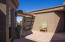 Separate Casita with French Door and Private Access.