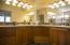 Master Suite, Dual Vanities, Custom Cabinets, Separate Tub and Walk-in Shower.