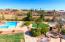 Fantastic Backyard w/Pool,Slide,Waterfeature,Firepit
