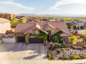 Step into this luxury home with great lot and views!