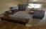 Living room view from split level