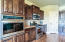 Beautiful cabinets and Stainless appliances