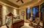 Guest suite 2 is located on the main level with a private patio looking out towards Snow Canyon