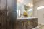 Master bath double sink/vanity.