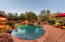 Enjoy this infinity pool and views of red rocks -- definitely paradise!