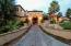 All exterior entry drives and walks are cobble stone paved...