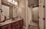 3rd Full Bath Main Level door opens to backyard,