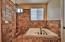 Master Bath Jetted Tub and Walk in Shower
