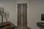doors to master bathroom