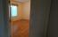 Double-door entry to second bedroom