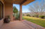 Down stairs covered patio with great views and privacy.