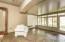 Enclosed sunroom off great room