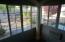 Enclosed patio off Master Bedroom