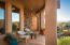 Beautiful casita and covered patio -- again with stunning views of area.