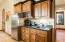 Beautiful and large kitchenette in casita for guests and family to enjoy!
