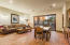 This is the lower level family room, dining area, kitchen -- SWEET!