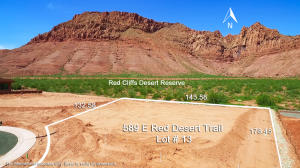 589 E Red Desert Trail, Lot # 13, Ivins, UT 84738