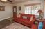 Formal living room at entry