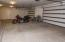 3 car attached garage