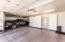 Extra storage in garage.