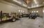 oversized RV garage with full hook ups