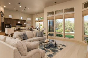 Inviting Living Room with views and tons of natural light