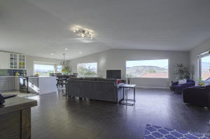 Open floor plan maximizes every view from all the windows