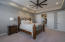 Owners Suite with Barn Doors to Bathroom