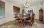 Host 10-15 friends in the extra large dining room open to the kitchen and family room.