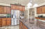 """""""Wow"""" best describes the size of this well planned kitchen!"""